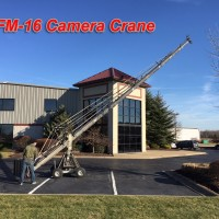EXCELLENT CONDITION - Grip Factory Munich GFM-16 Camera Crane: This German-designed and built GFM-16 by Grip Factory Munich Crane is the pinnacle of modular camera cranes. The build quality and design is apparent in every joint and weld on the crane.
