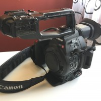 Canon EOS C100 Mk II 192 hours + 4 batteries
