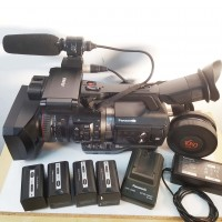 HD P2 AVC-Intra camcorder with charger and batteries