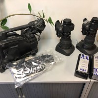 HD XDCAM Camcorder with HDVF-C30WR High res Viewfinder plus Lenses