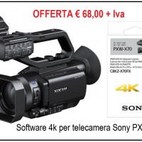 4K SOFTWARE FOR CAMCORDER SONY PXW-X70