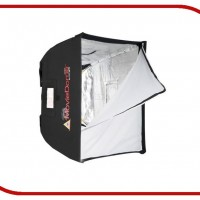 Photoflex Moviedome Softbox, Silver Interior - Medium - 24x32