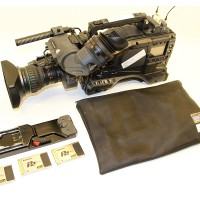 Several AJ-HPX2100 ENG Units, P2 Cards and SD Lens