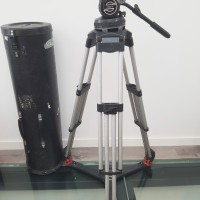 S25 heavy head + Silver heavy tripod legs + transport tube
