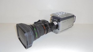 HDC-X300, Three 1/2-inch type 1.5-mega pixel HD CCDs with Fuji XDCAM lens Options.