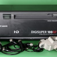 HD 100x box lens with auto focus and stabilizer