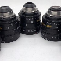 5 Carl Zeiss Ultra Prime lenses (PL mount)