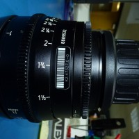 Arri 28mm Ultra Prime lens (ft)scale