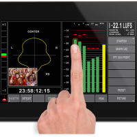 "7"" Multi Touch display Audio, Loudness & Logging System"