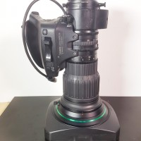 HD 4K wide angle B4 2/3 mount lens with extender
