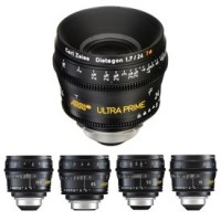ARRI Ultra Prime Set 16/24/50/85/100mm (Feet) Set of 5 Lenses