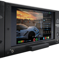 Twin SSD recorder with monitors and HDSDI and HDMI I/O with conversion