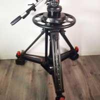 Heavy pedestal + strong dolly + head S25