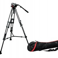 Manfrotto 504HD 546BK Tripod