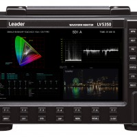 Leader LV5350 Portable unit - upto 4K/12G capability