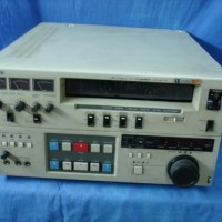 Sony studio Umatic SP High Band editing recorder with various features.