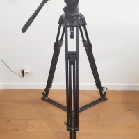 Fluid head 526 + Tripod 350MVB - support 16kg