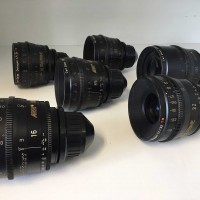 Carl Zeiss Ultra Prime PL mount set of 6 lenses 16, 24, 32, 50, 85 and 135mm (all used)