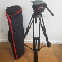509HD head + 545BK tripod + MBAG100PNHD transport bag -support 13,5kg