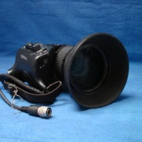 Professional broadcast lens for use with 2/3