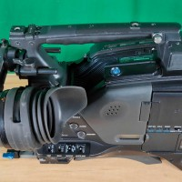 Sony PDW F800 XDCAM Blue Ray disc based broadcast Full HD camera, with Sony HDVF20a broadcast viewfinder