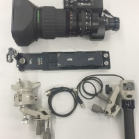 SD Broadcast Long lens with remotes and support