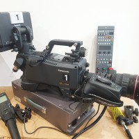 HD Fiber camera chain + lens HD 19x with remotes - several units available
