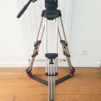 18P fluid head with Silver tripod