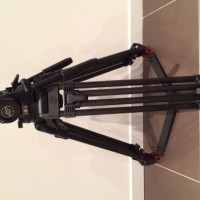 Complete system with fluid head VIDEO 25 Plus - Cabron double extension legs