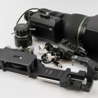 40x Super HD Telephoto Lens with controllers.