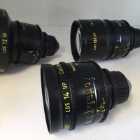 Carl Zeiss Ultra Prime PL mount LDS 8 lens set of 12, 14, 16, 24, 32, 50, 135 and 180mm lenses