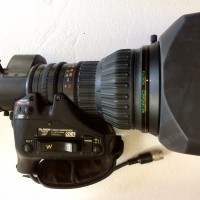 Fujinon HA22x7.8-M58  HD tele lens in very clean shape!