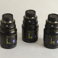 Digiprimes B4 mount set of 3 lenses - 7,14 and 28mm