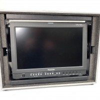 "USED PANASONIC BT-LH1760E 17"" Monitor in flight case"