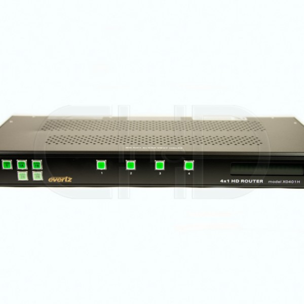 HD/SD-SDI four input router