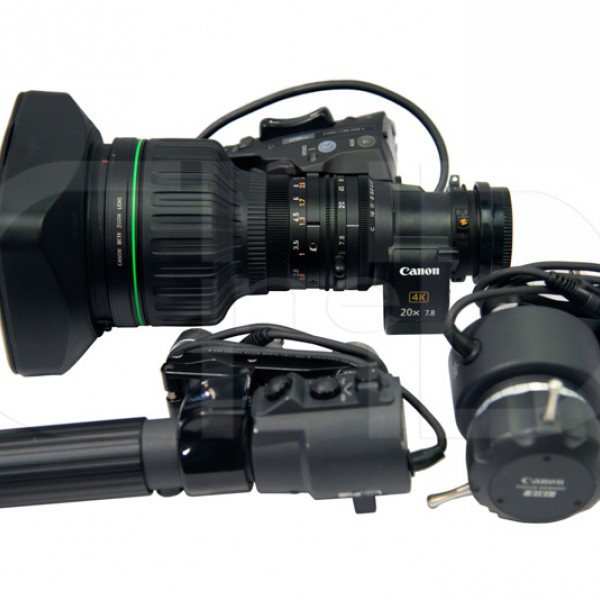 4K 2/3in. B4 telephoto zoom lens kit