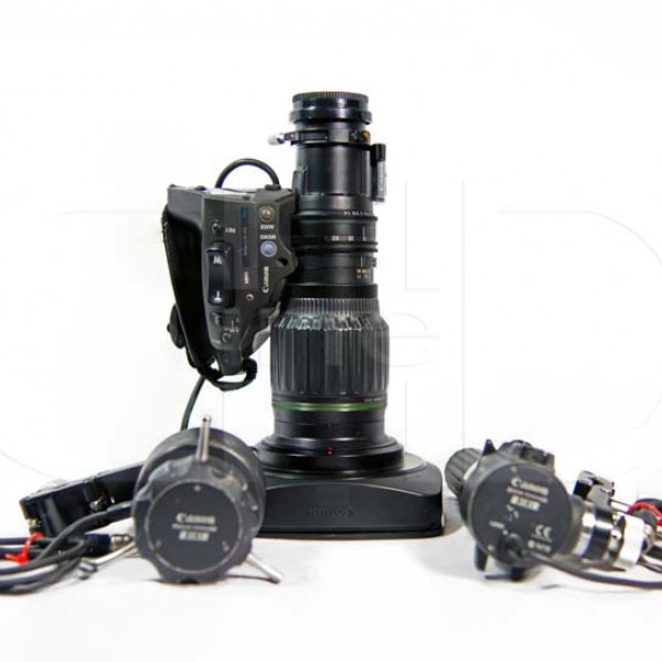 2/3in. B4 HD wide angle zoom lens with remote kit