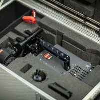 USED ALEXA SXT PLUS WITH ACCESSORIES, MEDIA AND FLIGHT CASE.