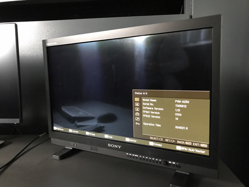 Sony  PVM A250 OLED MONITOR  - Image #1