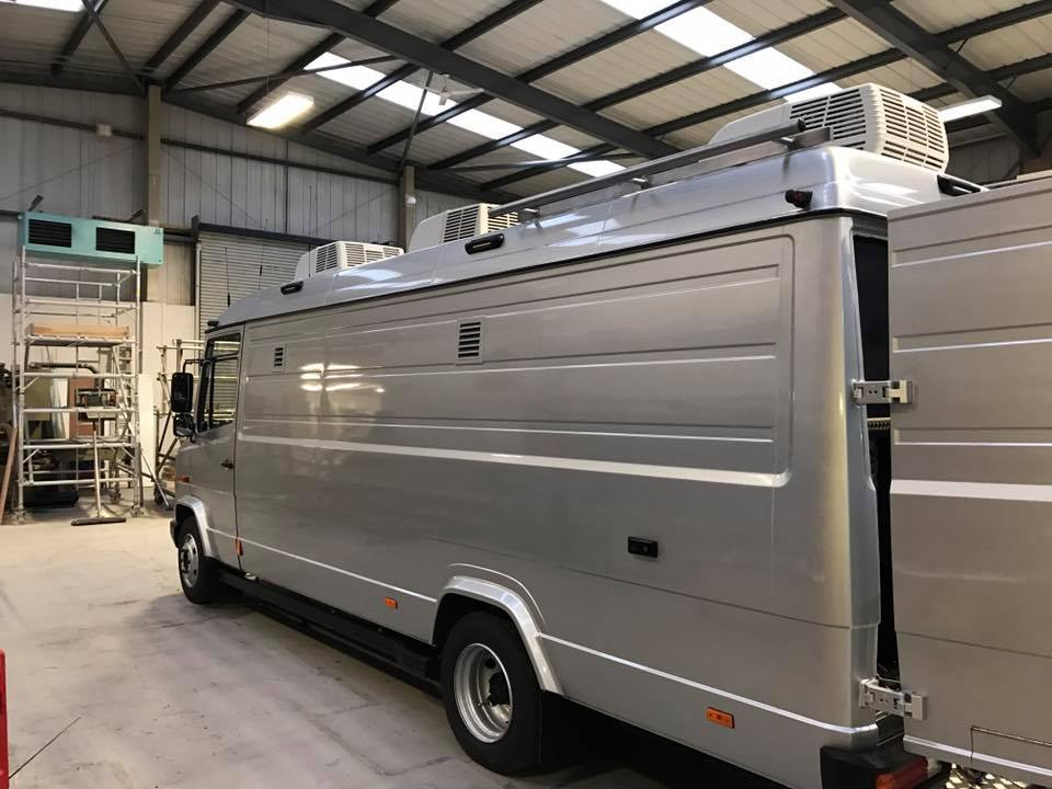 beae4f1c9d WTS 6 Camera Capable Mercedes Vario LWB High Roof DSNG OB1 - Image  1