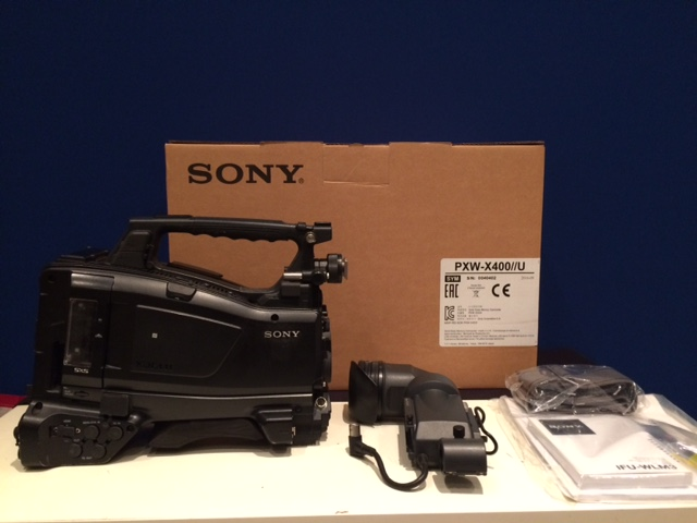 SONY PXW-X400 with viewfinder HDVF-20A - Image #1
