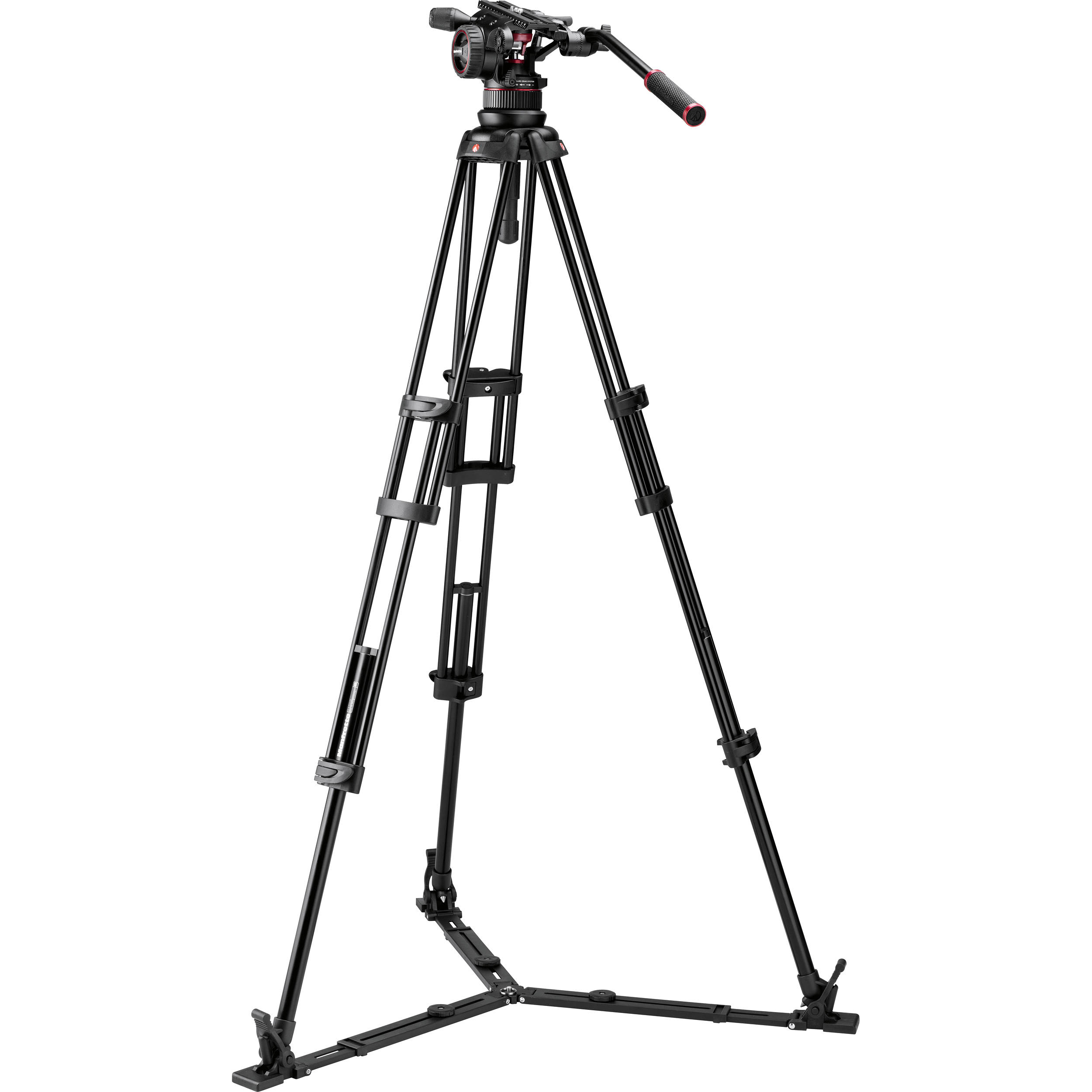 Manfrotto Tripods (Heads and Legs ) Manfrotto 545 legs and 509HD head. - Image #1