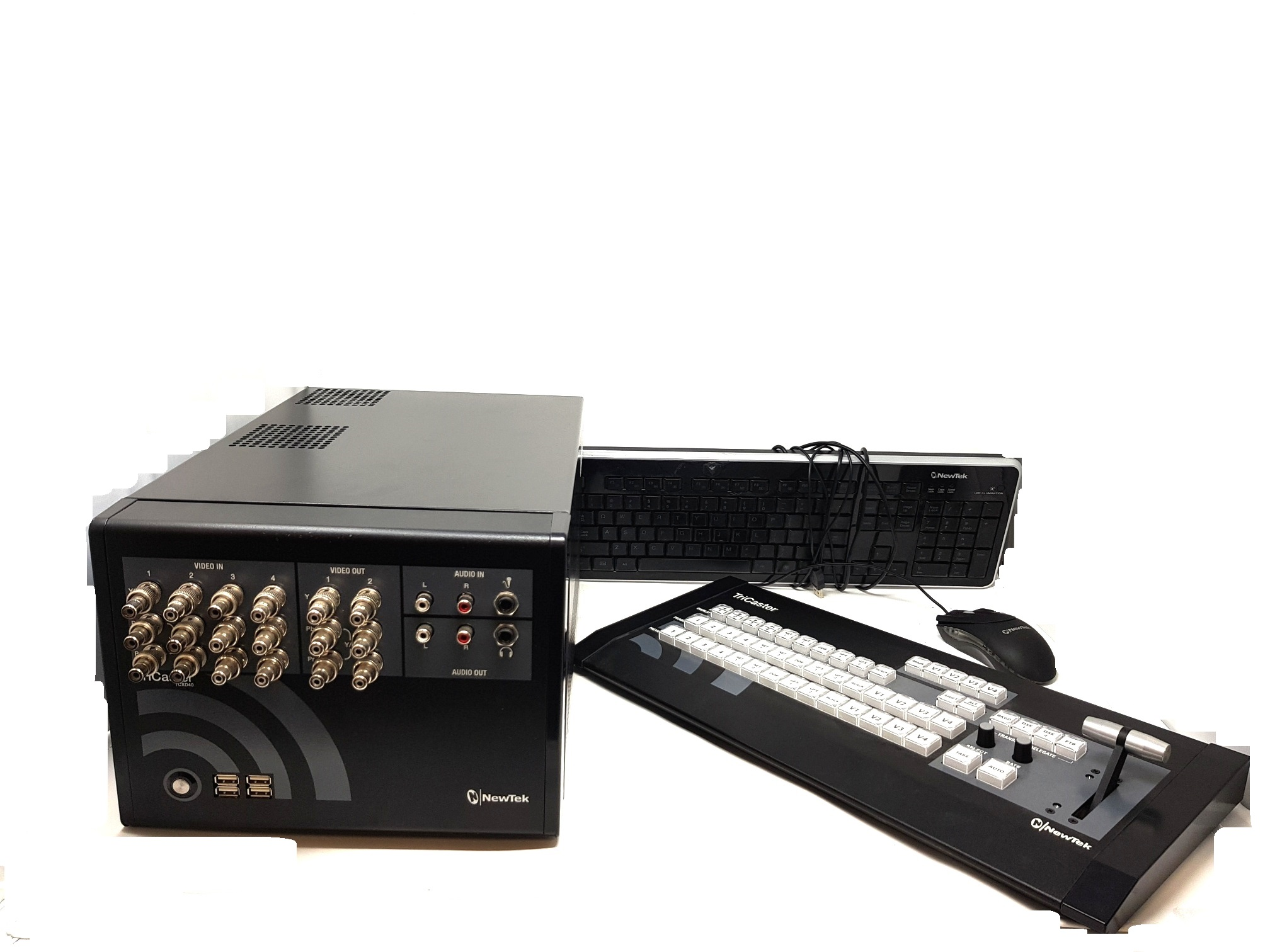 Newtek Tricaster TCXD40 and Tricaster Mini Control Surface (TC40) - Image #1
