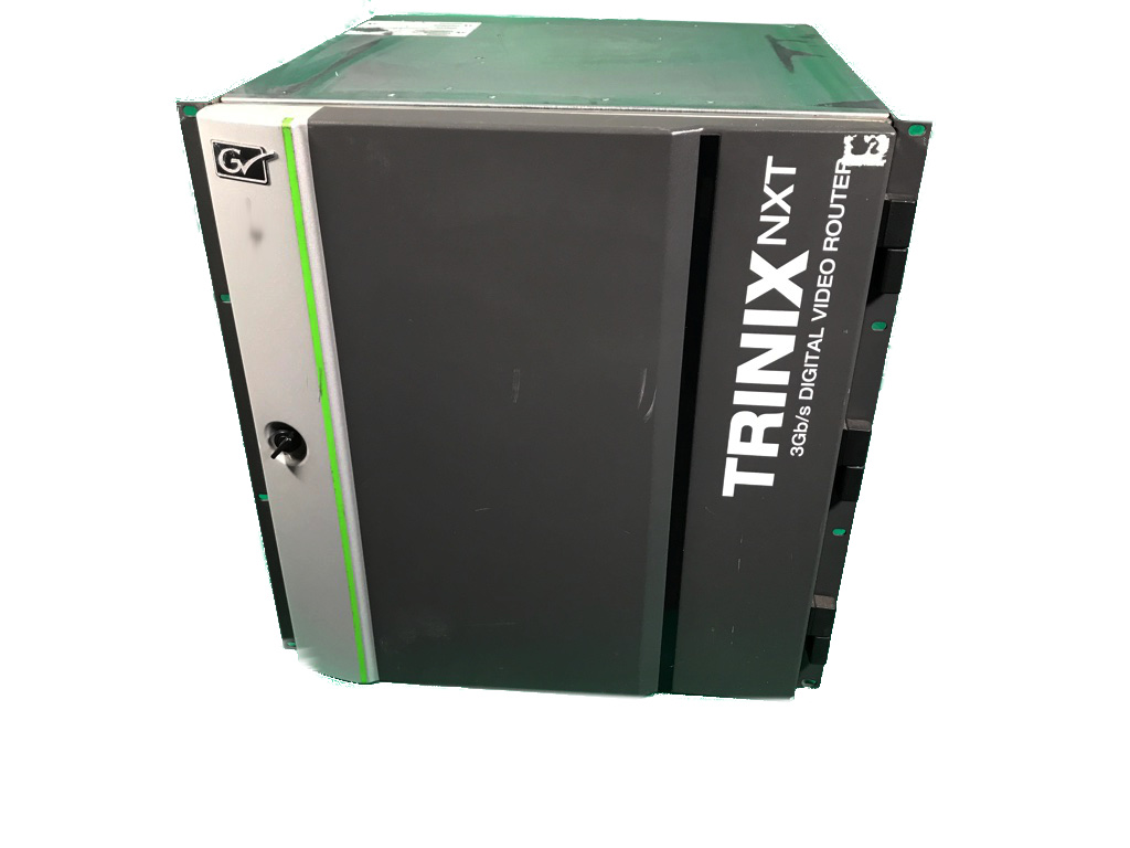 GRASS VALLEY TRINIX NXT 128x256 3G HD router - Image #1