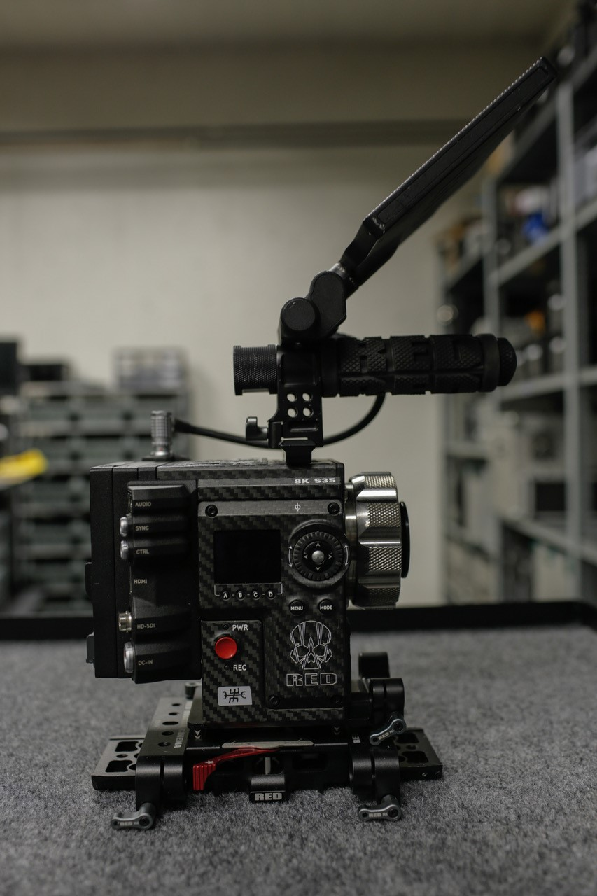 Red - DSMC2 Weapon Helium 8K S35 - Good condition, low hours