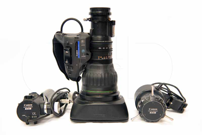 H2/3in HD telephoto zoom lens with remote kit