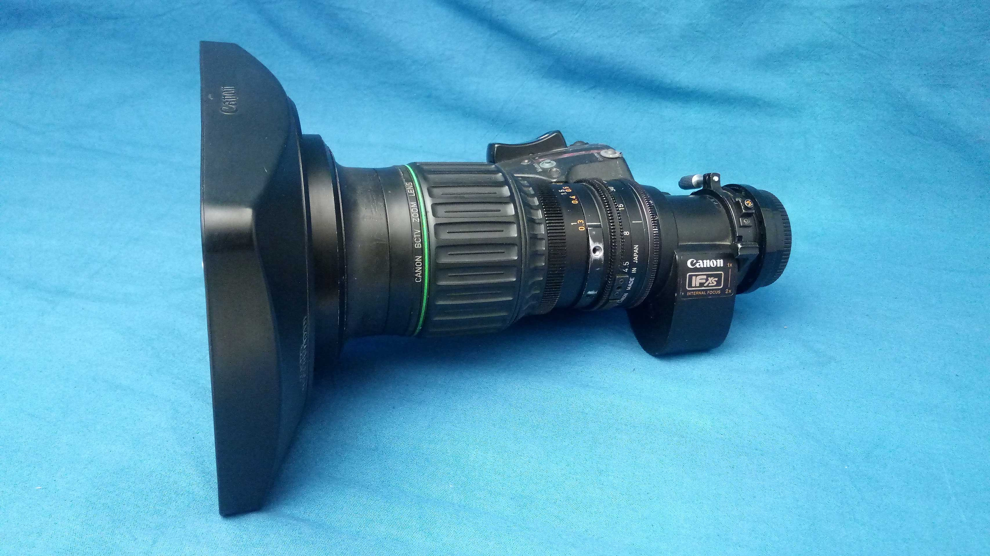 Canon J11a X 4.5 B IRSE wide angle lens with 2x doubler - Image #1