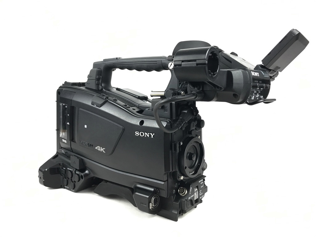 Sony  PXW-Z450 + HDVF-EL30 4K UHD Shoulder Camcorder with  OLED Viewfinder - Image #1