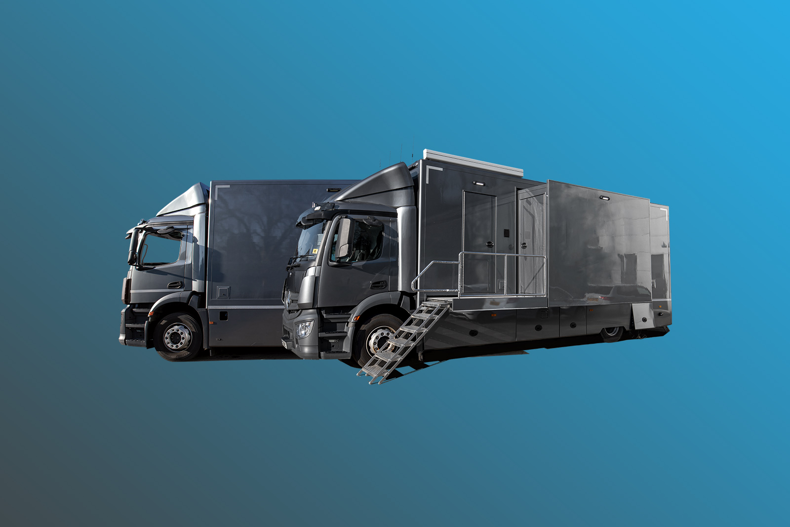 12-CAMERA SINGLE EXPANDER 4K HDR TRUCK WITH TENDER VEHICLE - Image #1