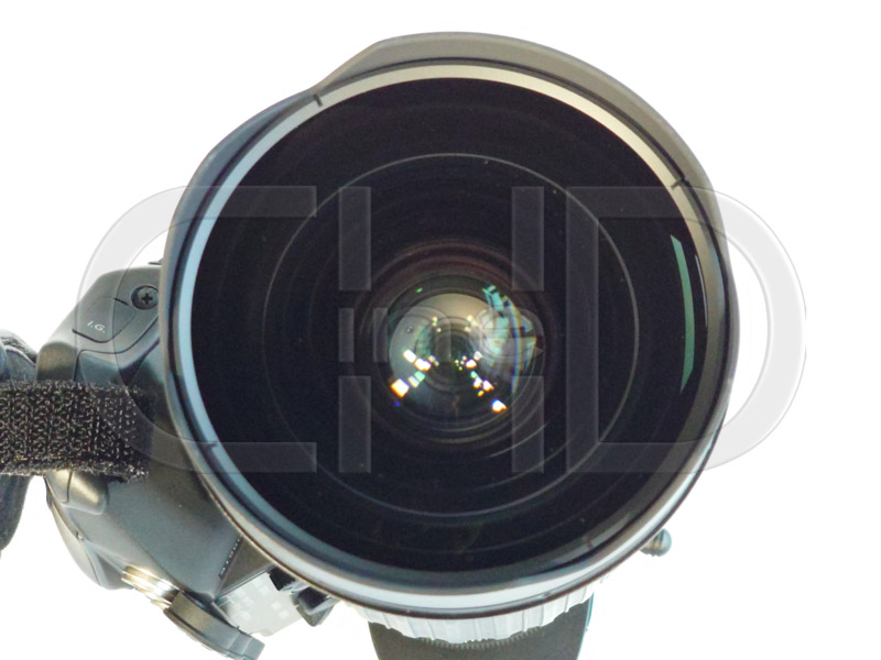 2/3in. HD wide angle zoom lens